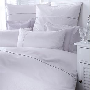 Комплект постельного белья Curt Bauer Calibri kreide (молочный)