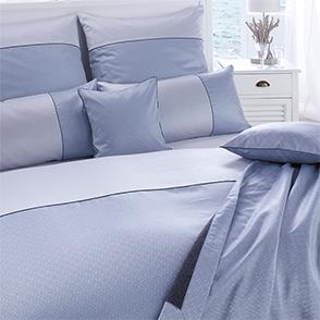 Комплект постельного белья Curt Bauer Calibri ozean (голубой)