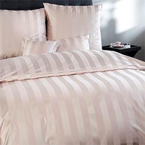 Комплект постельного белья Curt Bauer Como beige полоса (ваниль)