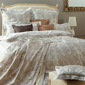 Комплект постельного белья Curt Bauer Louis XIV altsilbet (античное-серебро)
