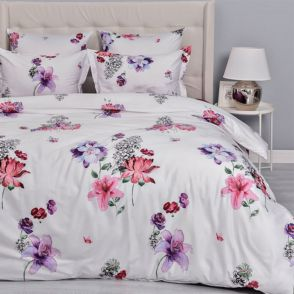 Комплект постельного белья Mako-Lietta-(белый)-1