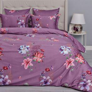 Комплект постельного белья Mako-Lietta-(лиловый)-2