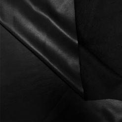 TD07422-Плащевка-Кожзам-на-велюре-Черный-70пе-27пе-3ел-150-Италия-2